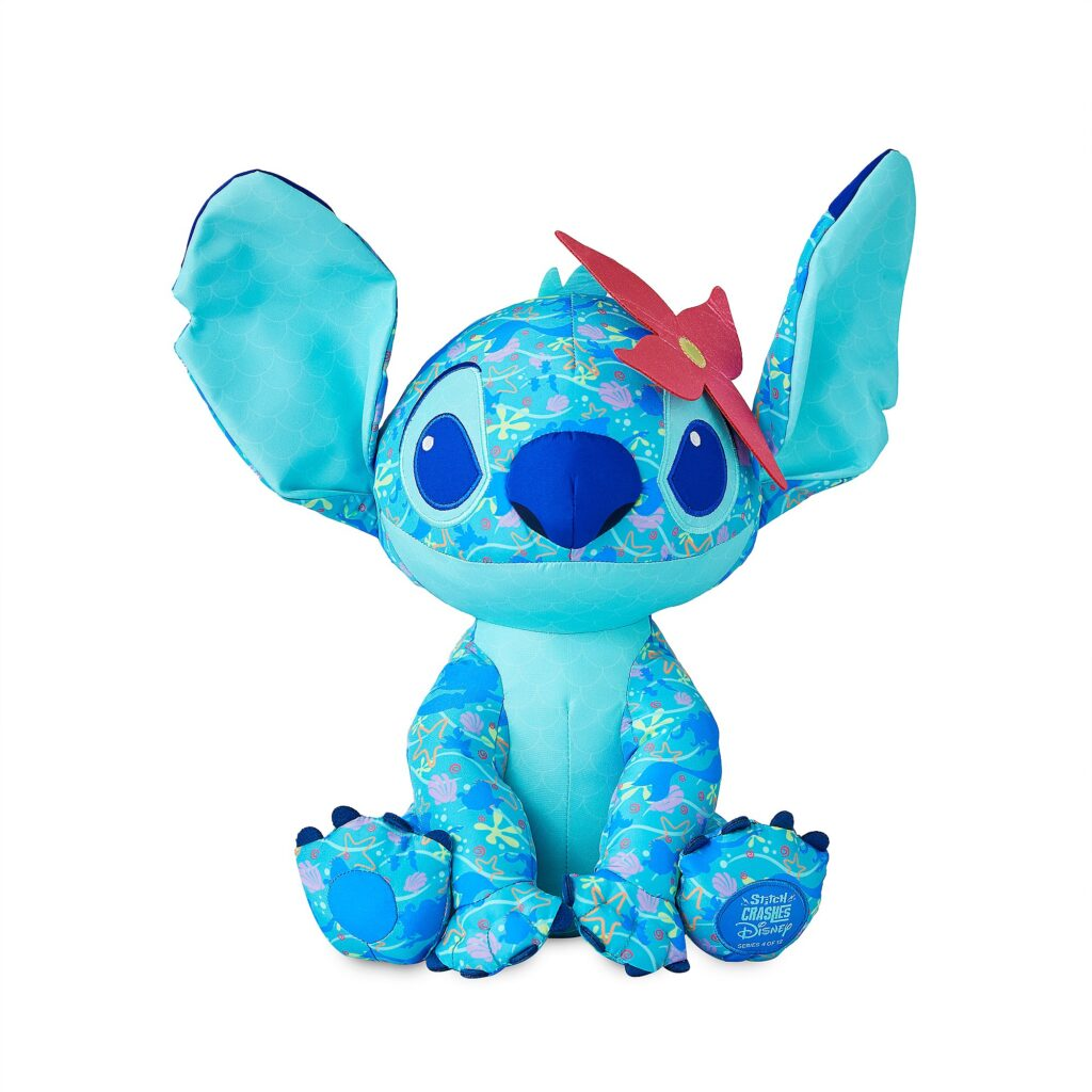 Stitch Crashes The Little Mermaid Plush