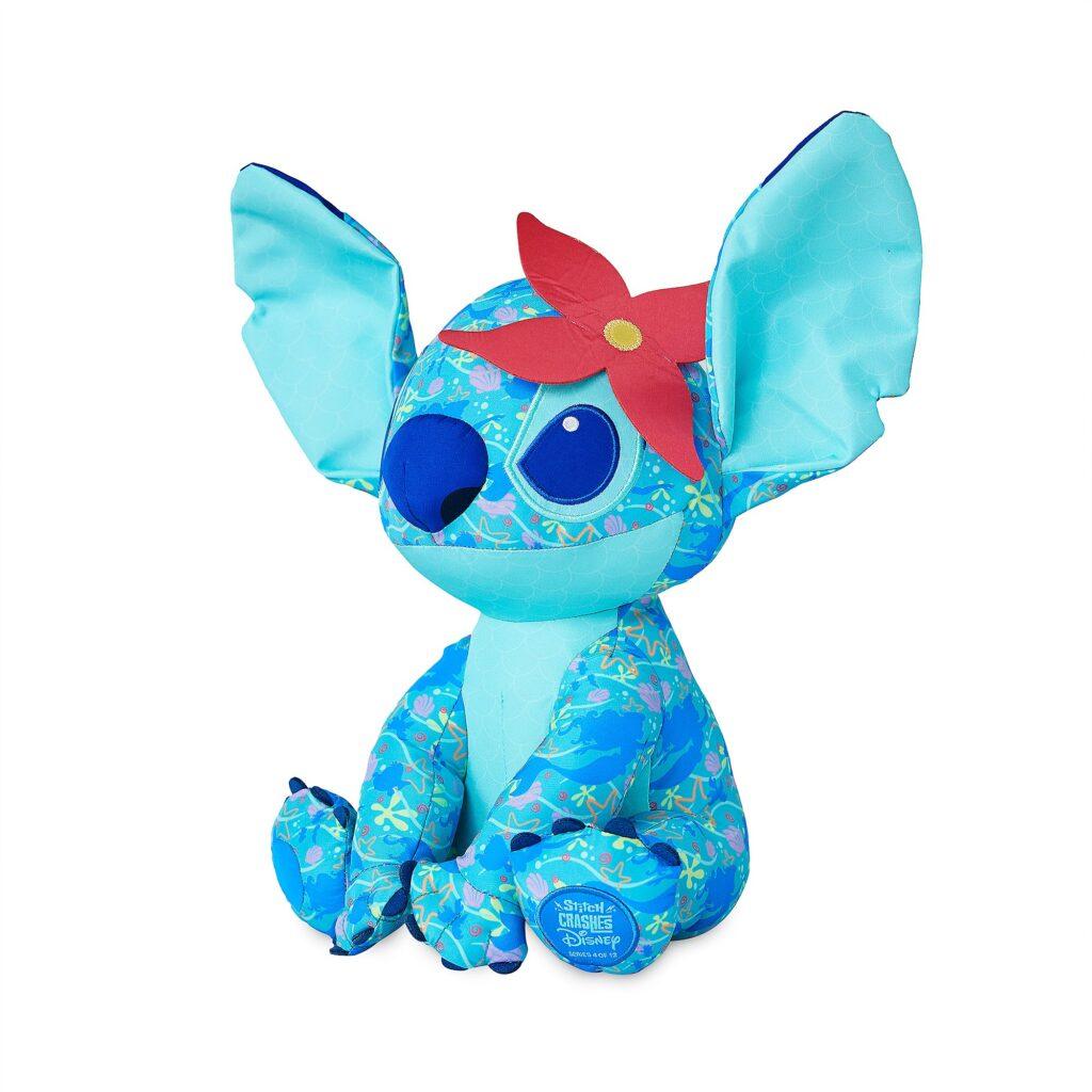 Stitch Crashes The Little Mermaid Plush (side angle)