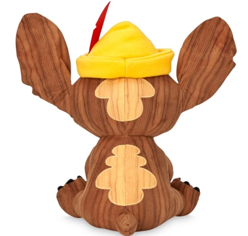 Stitch Crashes Pinocchio Plush (back)