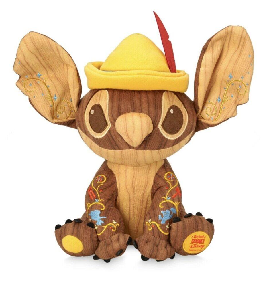 Stitch Crashes Pinocchio Plush