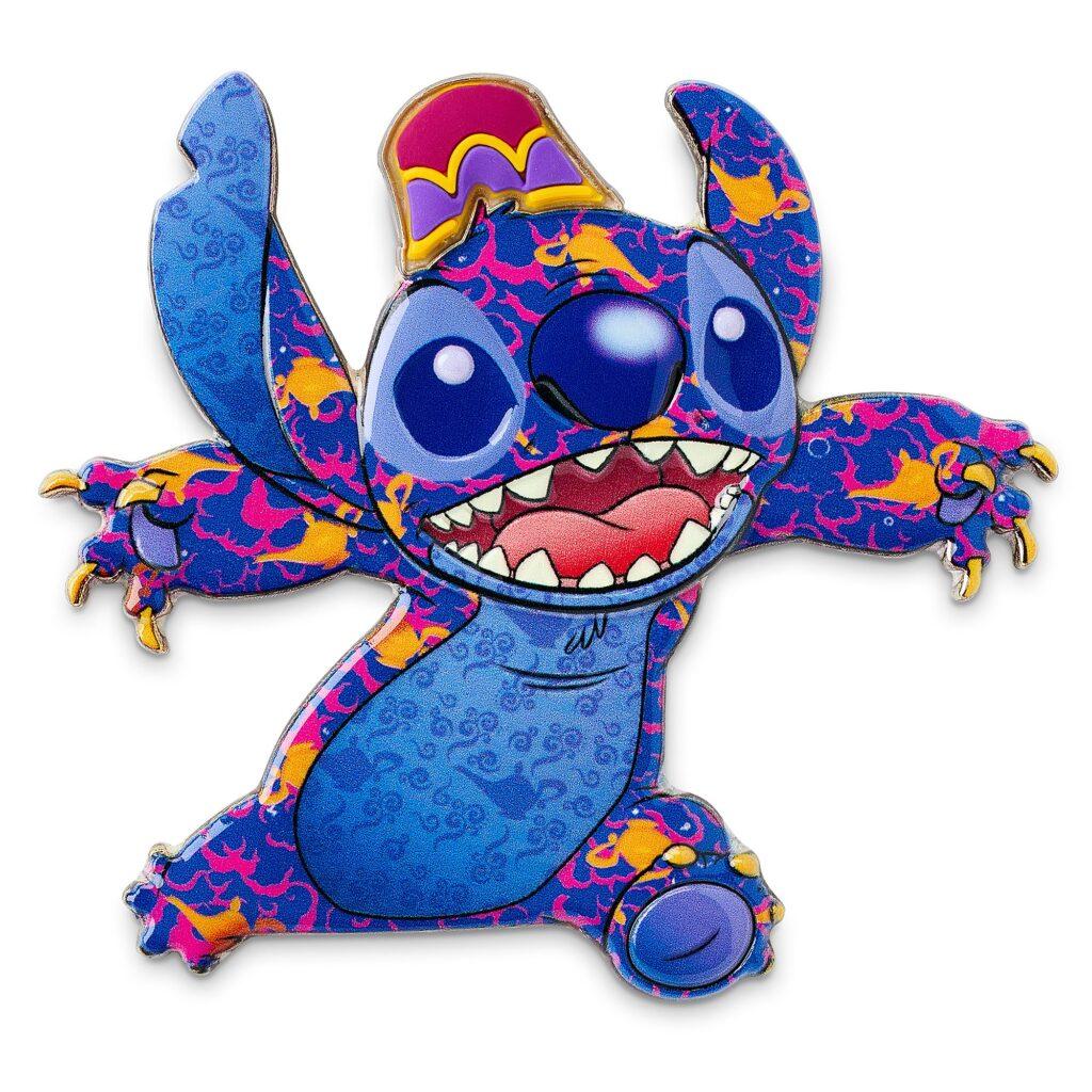 Stitch Crashes Aladdin Pin