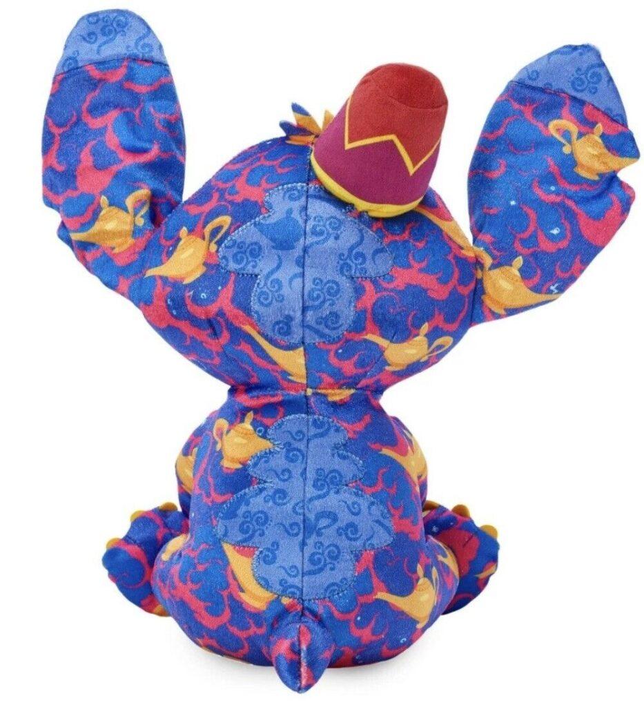 Stitch Crashes Aladdin Plush (back)