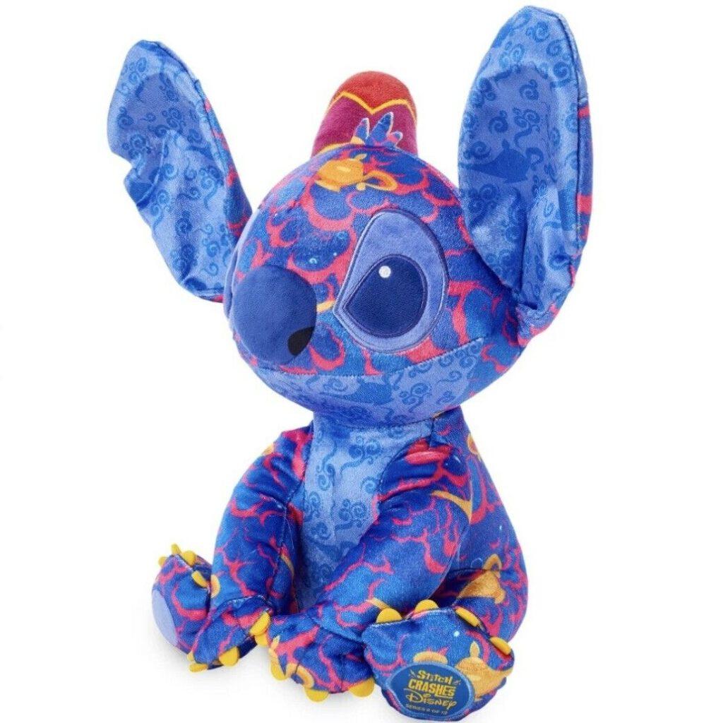 Stitch Crashes Aladdin Plush Side View